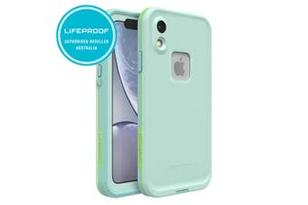 Lifeproof Fre Waterproof Case/Cover Protection for iPhone XR Tiki Blue/Green
