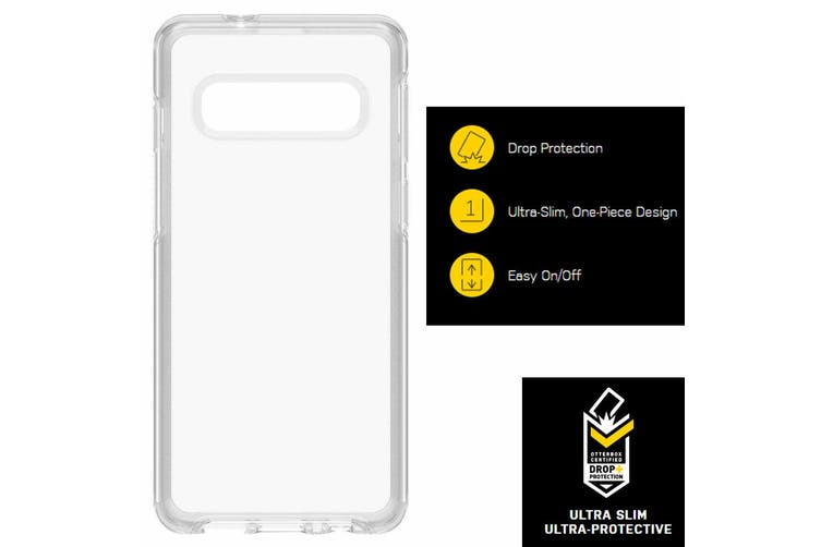 Otterbox Symmetry Slim Protective Case Protect Cover f/ Samsung Galaxy S10 Clear