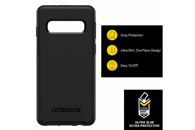 Otterbox Symmetry Protective Case Protect Cover f/ Samsung Galaxy S10+ Plus BLK