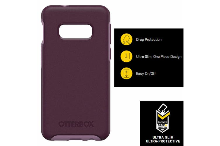 Otterbox Symmetry Case Protective Slim Cover f/ Samsung Galaxy S10e Tonic Violet