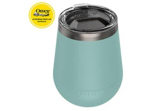 Otterbox Elevation Wine Tumbler 300ml Travel Drink Cup Stainless Steel w/Lid TL