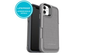 LifeProof Wallet Case Cover Protection for Apple iPhone 11 Cement Surfer Grey