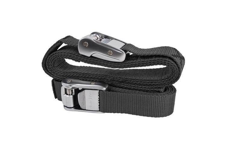 Otterbox Venture 6ft Buckle Strap Tie Down Kit Accessory for Cooler Box Black