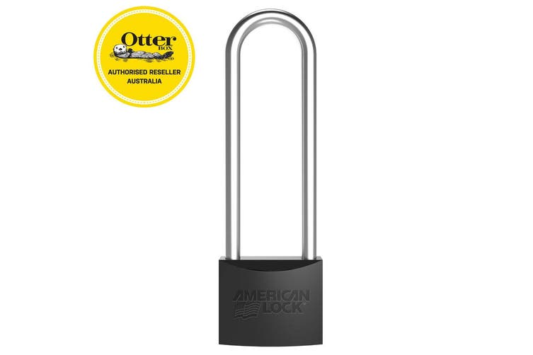 Otterbox Venture Security Lock Accessory Padlock for Cooler Box/Storage Black
