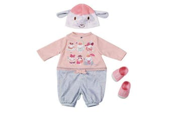 Baby Annabell Deluxe Casual Day Clothing/Hat/Shoes for Toy Doll Set Kids 3y+