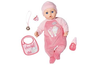 Baby Annabell Doll Annabell 43cm Baby Girls Kids/Toddler Children Toy 3y+ Pink