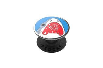 Popsockets Universal PopGrip Enamel GEN 2 Holder/Stand for Phones Shark Bite