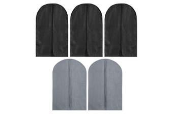 5PK Box Sweden Mode 90cm Clothes Cover Garment Dustproof Protector Storage Asst.