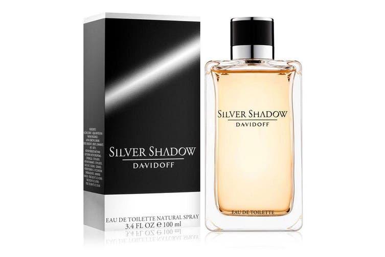 Davidoff 100ml Silver Shadow EDT Eau De Toilette Men Fragrances/Natural Spray