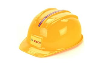 Klein Bosch Worker Helmet Kids Builder Plastic Hat Construction Toy 3y+ Yellow