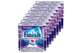 200PK Finish Capsules Powerball Tab Quantum Max Dishwashing Tablets f/Dishwasher