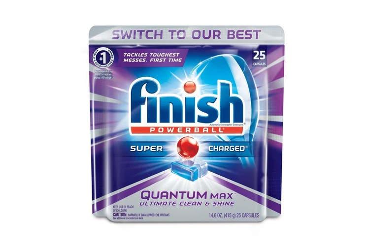 200PK Finish Capsules Powerball Tab Quantum Max Dishwashing Tablets f/Dishwasher