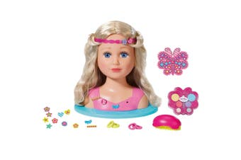 Baby Born Sister Styling Head Kids/Child/Toddler w/ 24 Doll Accessories Toy 3y+