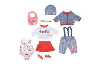 9pc Baby Born Deluxe Mix & Match Outfit Clothes Set for 43cm Dolls Accessory Toy