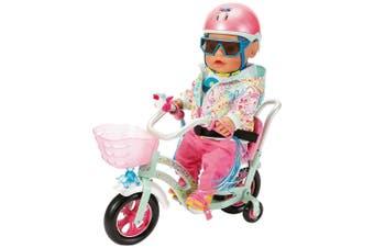 Baby Born Play & Fun Bike/Cycle 43cm Doll's Accessory w/Horn/Lights/Handle 3y+