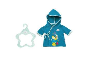 Baby Born Bath Bathrobe Clothes for 39-46 cm Dolls 3y+ Kids/Children Toy Teal