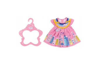 Baby Born Dress/Clothes for 43cm Dolls Kids/Children 3y+ Fun Play Toy Pink House
