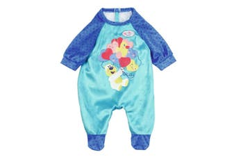 Baby Born Soft Romper/Clothes for 43cm Dolls Kids/Children 3y+ Fun Play Toy Blue