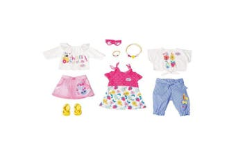 Baby Born Holiday Fashion Set Spring Clothes for 43cm Dolls Kids/Toddler 3y+