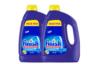 Finish 4kg 132 Washes Concentrated Lemon Dishwasher Powder Detergent (No Tab)