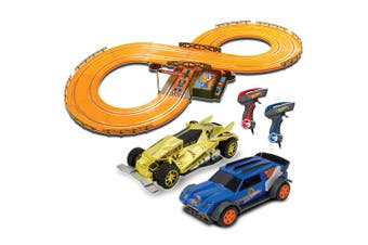 Hot Wheels Slot Racing Cars 286cm Track Set w/Remote Control Kids Toys