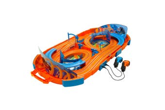 Hot Wheels 1:64 Outdoor Portable Slot Racing Car 280cm Track  Kids Toy