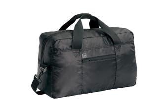Go Travel 30L Lightweight/Foldable Flight Cabin Hand Bag Compact Luggage Black