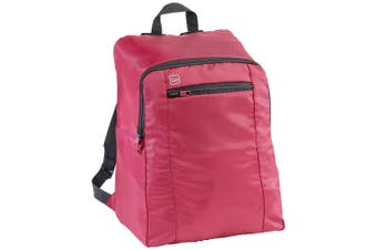Go Travel 25L Flight Cabin Backpack Lightweight/Foldable Compact Bag/Luggage Red