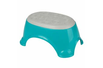 Bright Starts My Little Step Plastic Foot Stool Seat Kids/Children/Toddler Teal