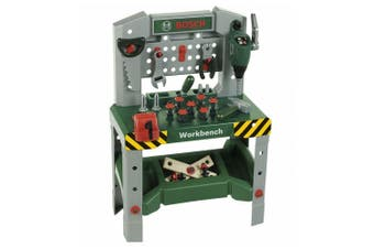 Klein Bosch Hand Tools Workbench Deluxe Kids 3y+ Construction Pretend Play Toy