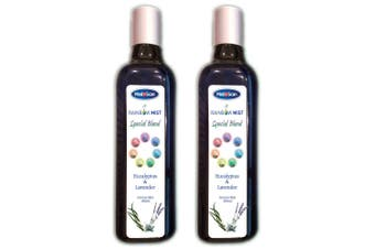 Medescan Rainbow Mist Aroma Blend for Humidifier 360ml Eucalyptus & Lavender Oil