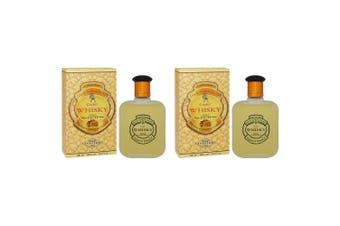 2x Whisky 100ml EDT/Eau De Toilette Fragrances/Natural Spray for Him/Men/Guys