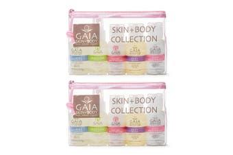 Gaia 10 X 50ml Natural/Organic Skin and Body Kit Women/Ladies/ No Animal Testing