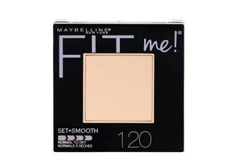 Maybelline 9g Fit Me Women Setting Smooth Powder f/ All Skin 120 Classic Ivory