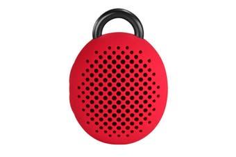 Divoom Bluetune-Bean Bluetooth Wireless Speaker/Selfie Shutter/Handsfree Mic Red