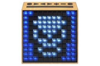 Divoom TimeBox Portable Wireless Music Bluetooth Speaker w/ FM Radio/Thermometer
