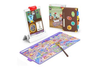 Osmo Detective Agency Kids Board Game 5y+ Children Fun Educational Toy w/ Maps