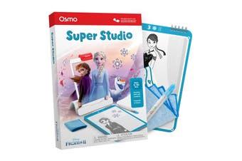 Osmo Super Studio Disney Frozen 2 Starter Kit Kids Drawing Game for iPad 5y+