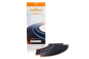 2pc Anki Overdrive Expansion Corner 90 Degrees Curved Track Pieces f/Starter Kit