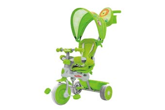 Trike Star Grand Comfort Kids/Toddler Ride On Tricycle w/Parent Handle 10m+ GRN