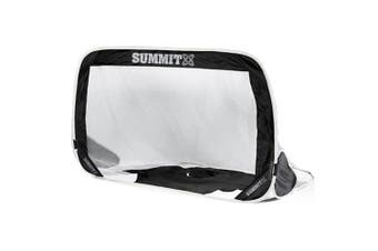Summit 1.8m 2-in-1 Premier/Target Goal Portable w/ Carry Bag f/ Football/Soccer