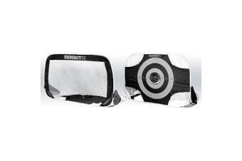2x Summit 1.8m 2-in-1 Premier/Target Goal Portable Carry Bag f/Football/Soccer