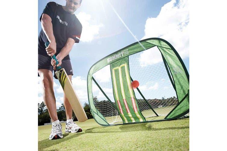 Summit 120cm 3rd Man Pop Up Stumps Foldable/Portable f/ Cricket/Sports/Training