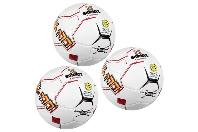 3PK Summit Global Evo Soccer Match Size 5 Soccer Ball/Football Indoor/Outdoor