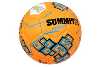 Summit ADV1 Size 3 Trainer Soccer Ball/Football Orange Sport/Game Indoor/Outdoor
