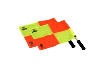 2pc 36cm Summit Linesman/Referee Flag f/ Training Sports/Soccer/Football Set