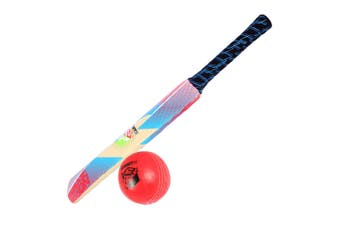 Summit Soft Touch Cricket Sport Kids/Children Set w/ 63cm Bat & Red Ball Toy 3+