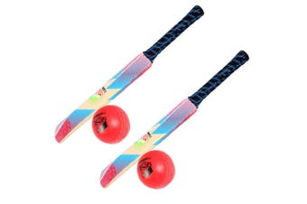 2x Summit Soft Touch Cricket Sport Kids/Children Set w/ 63cm Bat & Ball Toy 3+