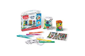 Maped Mini Box Monsters Kids Activity 4y+ Educational Children Art/Crafts Toy