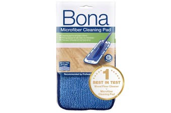 Bona Microfibre Cleaning Pad for Mop Floor Cleaning Washable/Reusable Wood/Tile